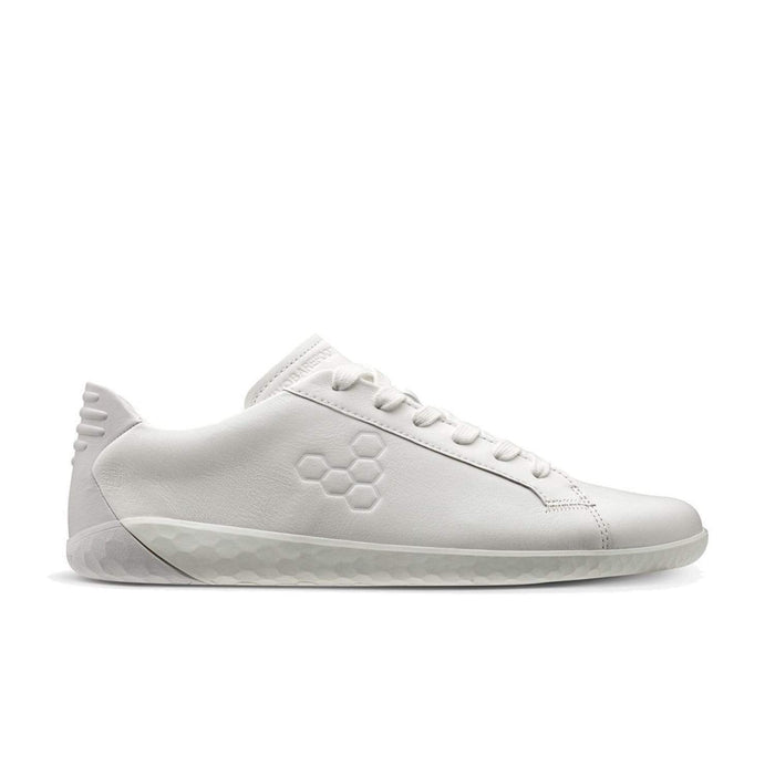 Vivobarefoot Geo Court Womens Bright White - Sole Mechanics Natural Motion Footwear - Australia & New Zealand