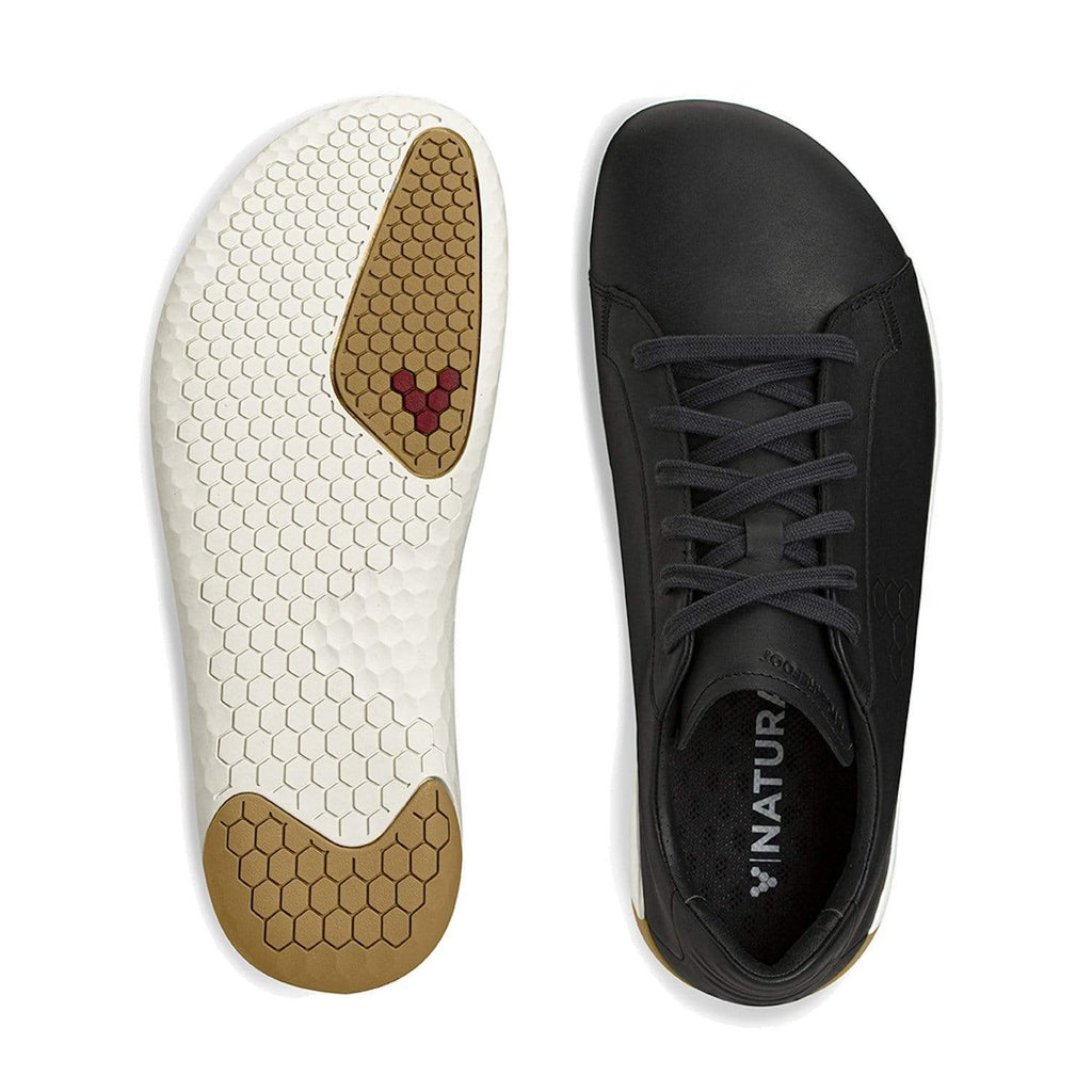 Vivobarefoot Geo Court Womens Obsidian - Sole Mechanics Natural Motion Footwear - Australia & New Zealand