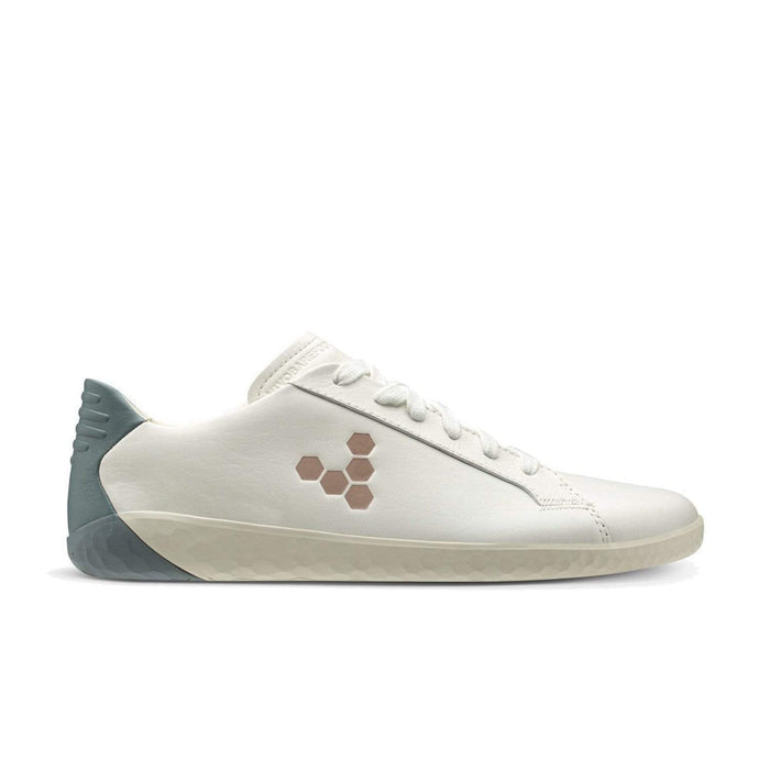 Vivobarefoot Geo Court Womens White Navy Pink - Sole Mechanics Natural Motion Footwear - Australia & New Zealand