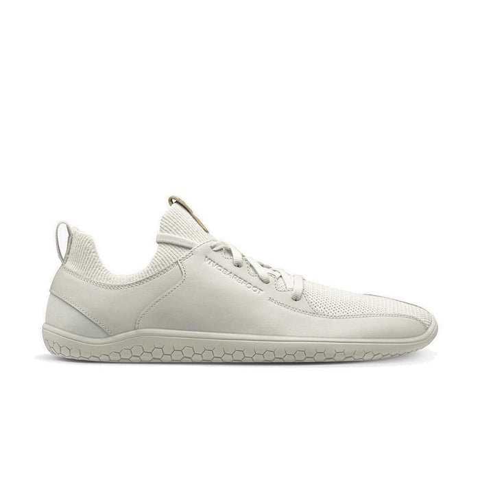 New Vivobarefoot 2020 AW Shoe Range |Vivobarefoot Primus Knit Womens Bright White| Now available online at Sole Mechanics