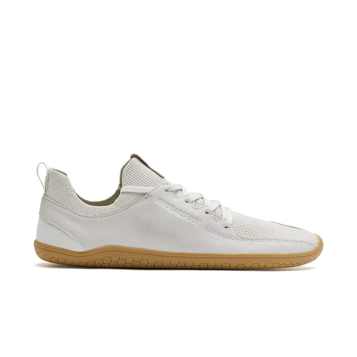 VIVOBAREFOOT Womens Vivobarefoot Primus Knit Womens Limestone Leather Vivobarefoot Primus Knit Limestone Leather Womens | Sole Mechanics