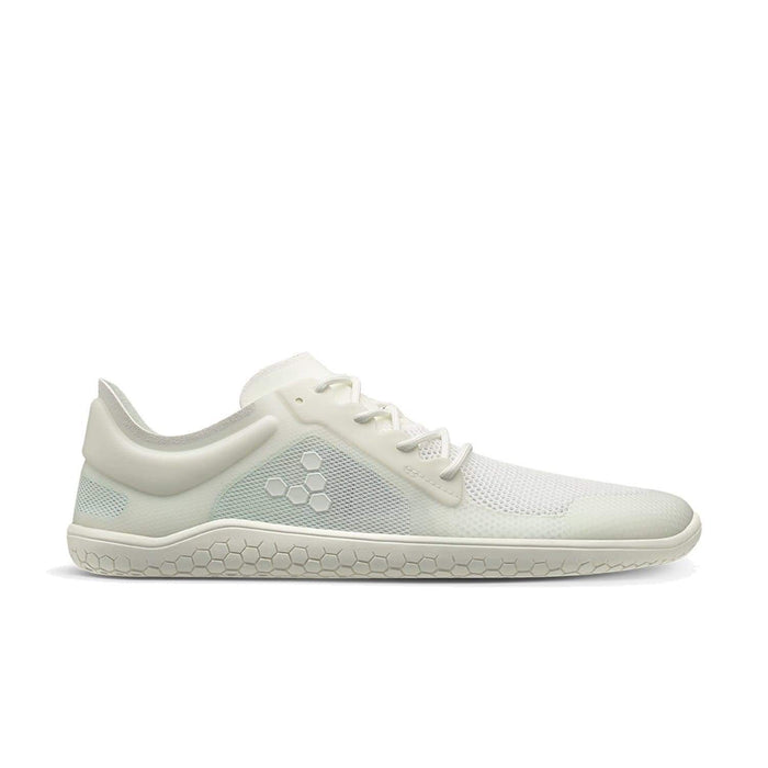 VIVOBAREFOOT Womens Vivobarefoot Primus Lite II Recycled Womens Bright White Vivobarefoot Primus Lite II Recycled Womens White | Sole Mechanics