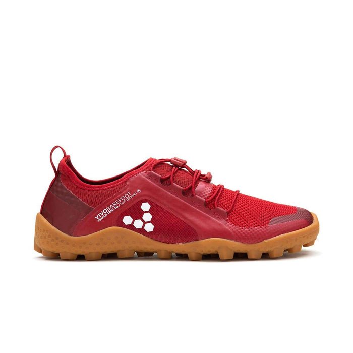 Vivobarefoot Primus Trail SG Womens Mesh Red/Gum - Sole Mechanics Natural Motion Footwear - Australia & New Zealand