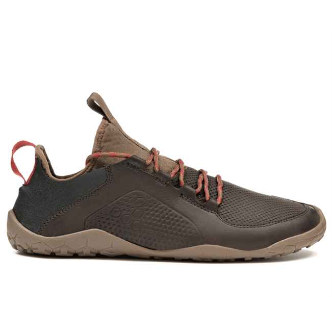 VIVOBAREFOOT Womens Vivobarefoot Primus Trek Womens Leather Dk Brown