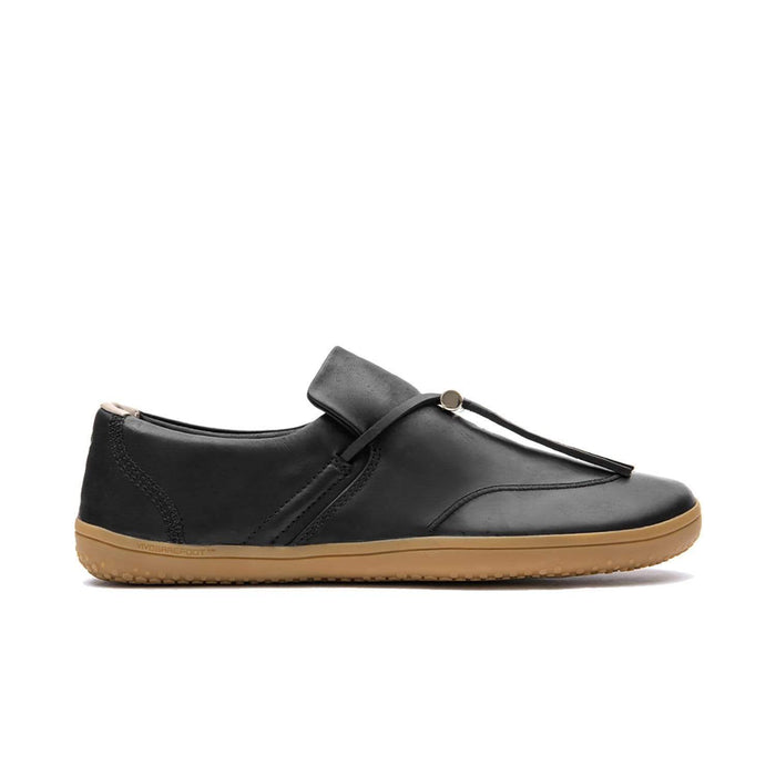 VIVOBAREFOOT Womens Vivobarefoot Ra Slip On  Womens Black Leather