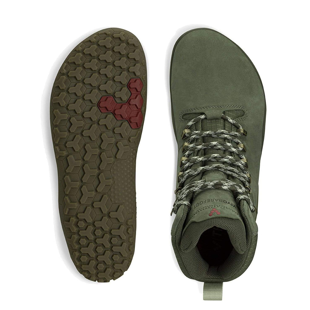 VIVOBAREFOOT Womens Vivobarefoot Tracker FG Womens Botanical Green Vivobarefoot Tracker FG Womens Botanical Green | Sole Mechanics Online