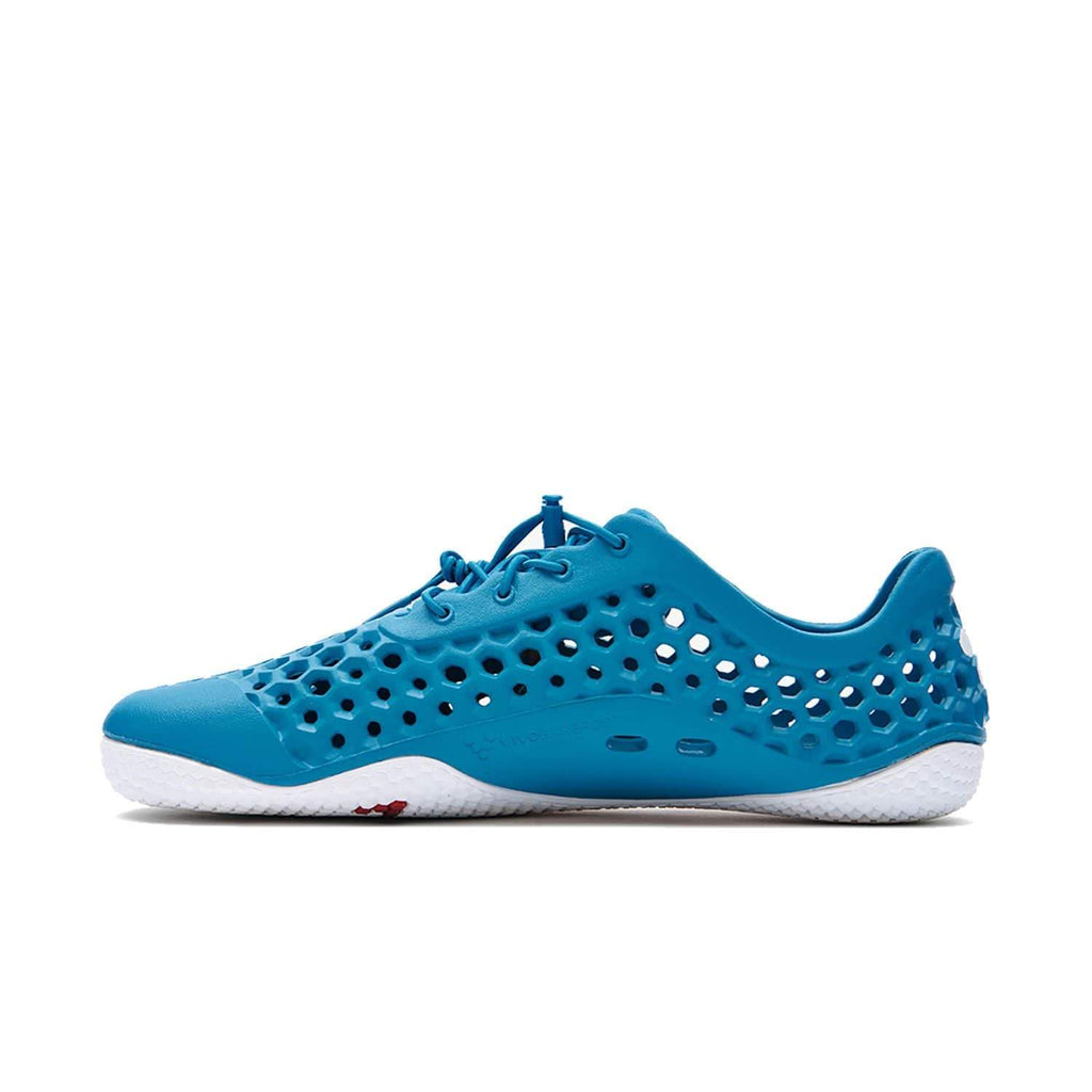 VIVOBAREFOOT Womens Vivobarefoot Ultra 3 womens Petrol Blue Vap Grey Bloom