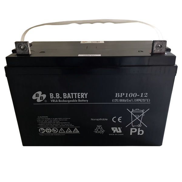 Battery (12 volt, 100 amp-hour) - Bull Dog Pro Sirocco