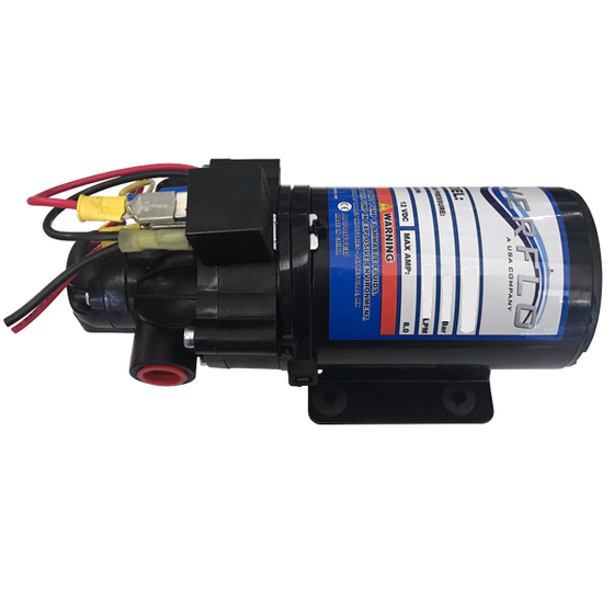 12v Diaphragm Pump - Bull Dog Pro Sirocco