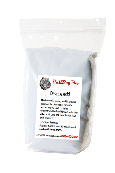BullDogPro Descale Acid (10 lb. bag) - Bull Dog Pro Sirocco