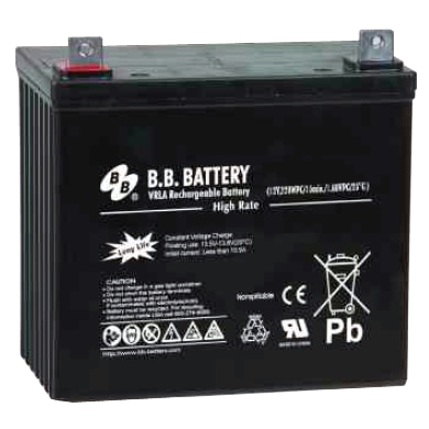 Battery (12 volt, 75 amp-hour) - Bull Dog Pro Sirocco