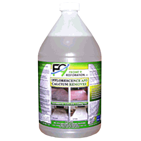 F9 Calcium and Efflorescence Remover (1 gal) - Bull Dog Pro Sirocco