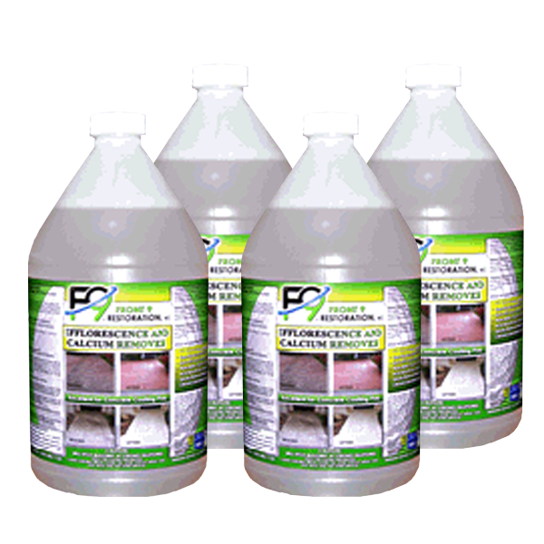 F9 Calcium and Efflorescence Remover (4 gal case) - Bull Dog Pro Sirocco