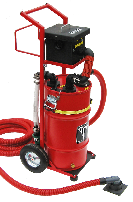 PEV1/15 Portable Electric Vacuum System - Bull Dog Pro Sirocco