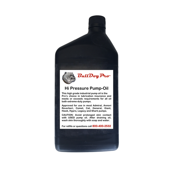 BullDogPro Hydraulic Pump Oil (1 quart)