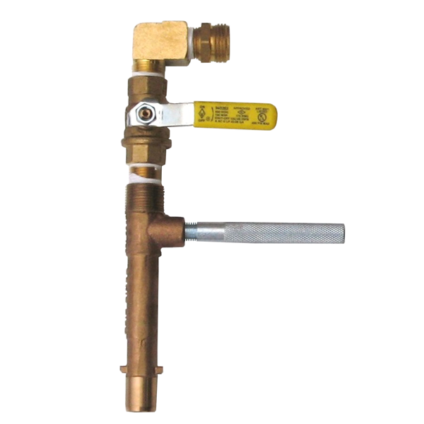 "¾"" Rainbird Water Valve Key (with ball valve)"