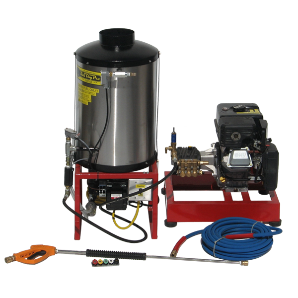 SHG4-4000 Stationary Hot Water Pressure Washer - Bull Dog Pro Sirocco