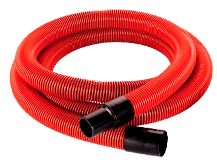 "2½"" Vacuum Hose with Cuffs (50 Feet) - Bull Dog Pro Sirocco"