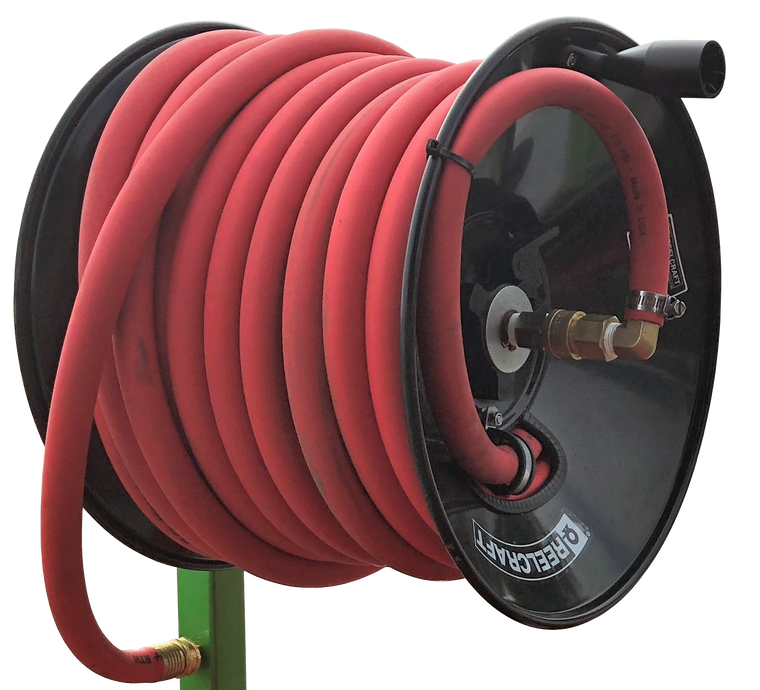 Hose Reel Swivel Upgrade Kit for Garden Hose Pressures - Bull Dog Pro Sirocco