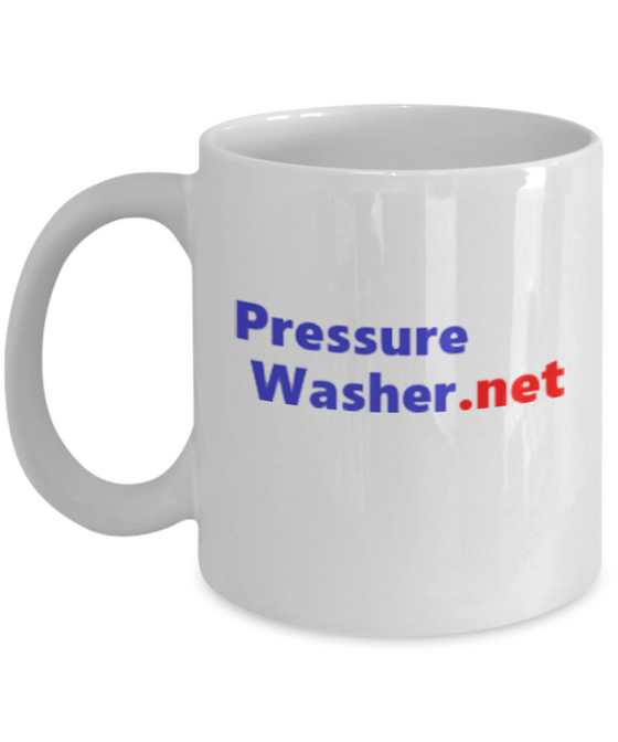 11oz. PressureWasher.net Coffee Mug - Bull Dog Pro Sirocco