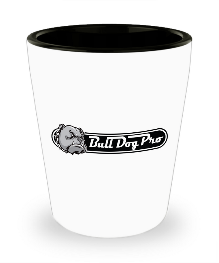 BullDogPro Shot Glass - Bull Dog Pro Sirocco