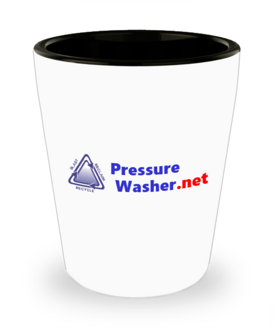 PressureWasher.net Shot Glass