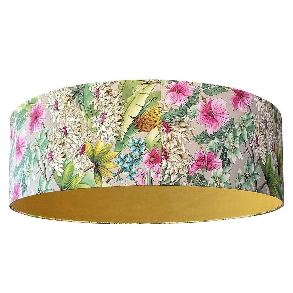 Ibiza Fuchsia Lightshade Lined With Oasis Magician Velvet 40""