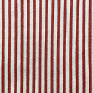 Cotton Ticking 'Red'