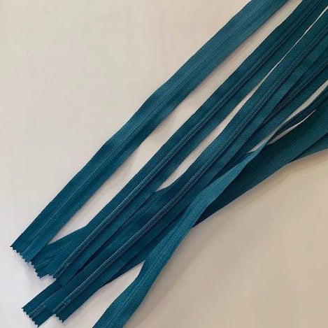 Invisible Zip 55cm Turquoise