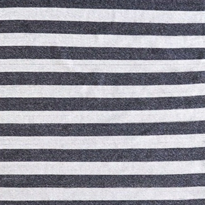 Summit Outdoor Flat Weave Rug - Charcoal Natural 160x230
