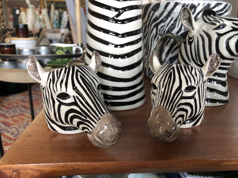 Animal egg cup Zebra