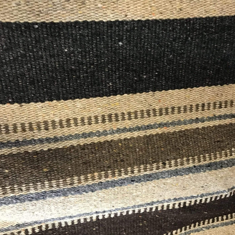 woven stripe Rockwall - wool mix