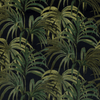 House of Hackney Palmeral Cotton Linen Midnight / Green Pre-order