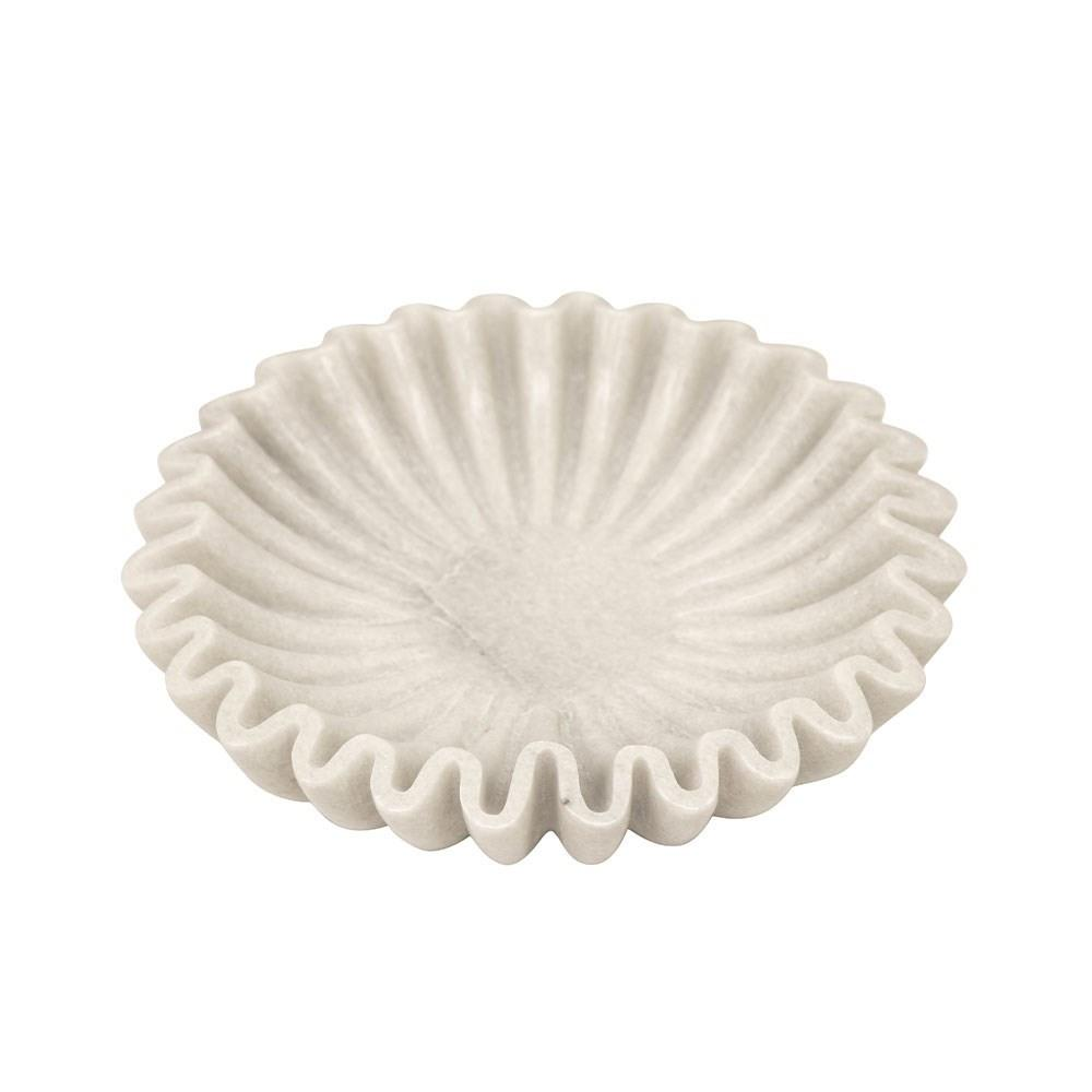 Pleated Marble Dish