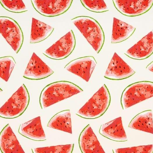 Watermelons Outdoor Fabric - Natural