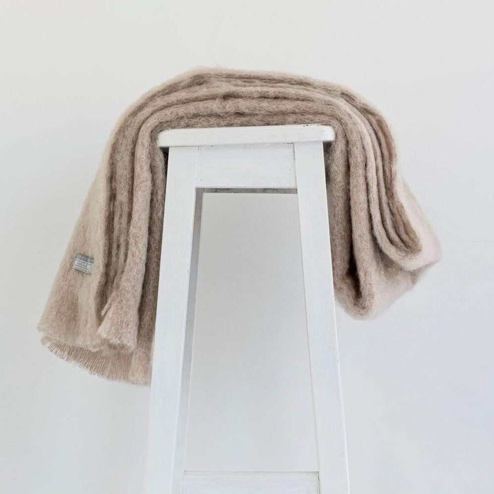 Paper Mohair Throw