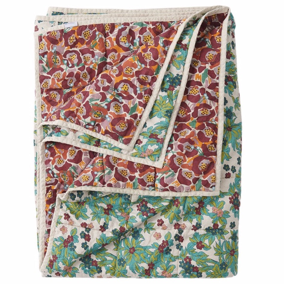 Betty/Midge Double Sided Linen Quilt - Standard