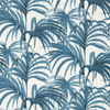 House of Hackney Palmeral Cotton Linen White / Azure Pre-order