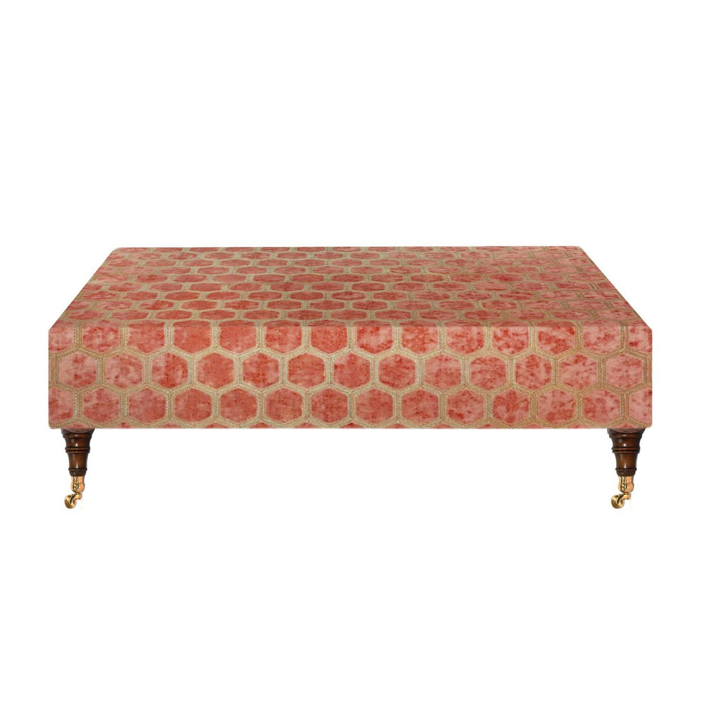Custom Made Ottoman with legs PRE-ORDER