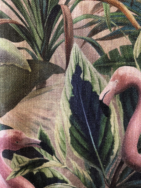 Carlucci Flamingo Botanico Fabric Nz Little And Fox