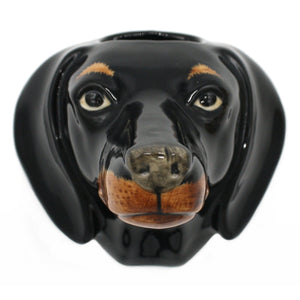 Wall hanging animal vase Dachshund Small