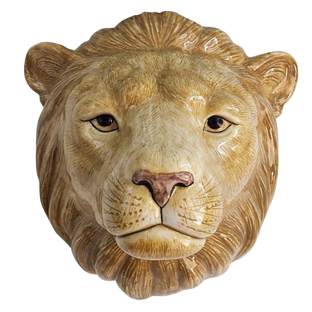 Wall Hanging Animal Vase Lion