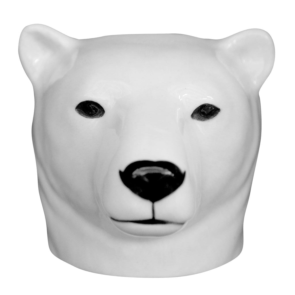 Animal egg cup Polar Bear