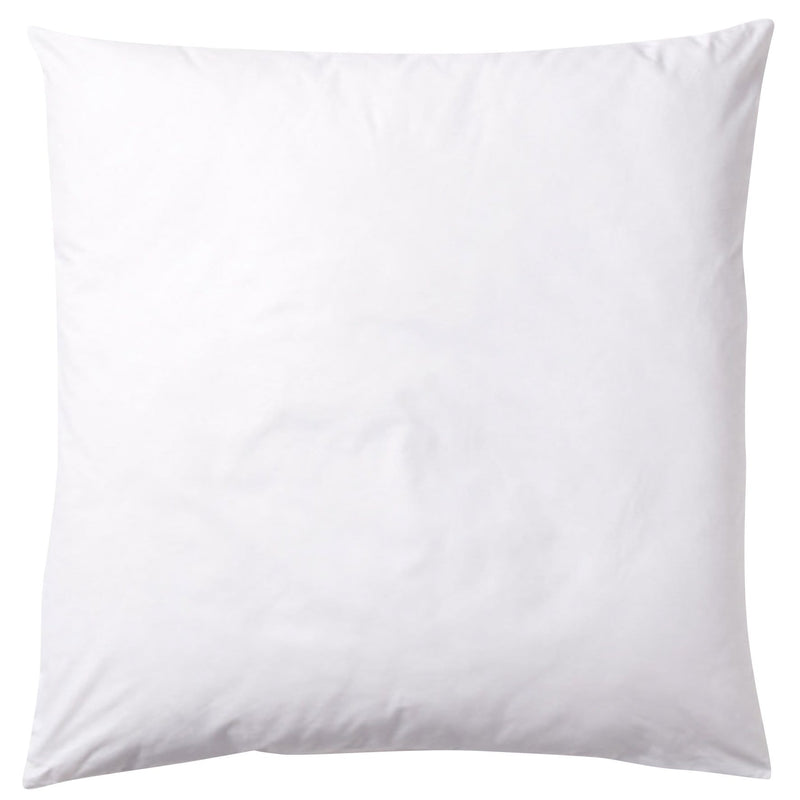 60/60cm 100% feather inner to fit a 55/55cm cushion cover