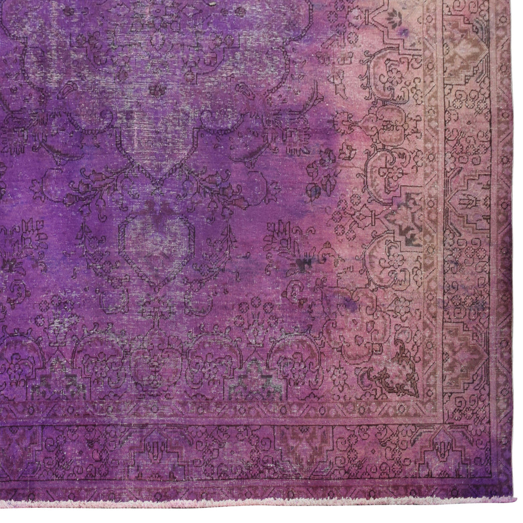 Purple Overdyed Persian Rug