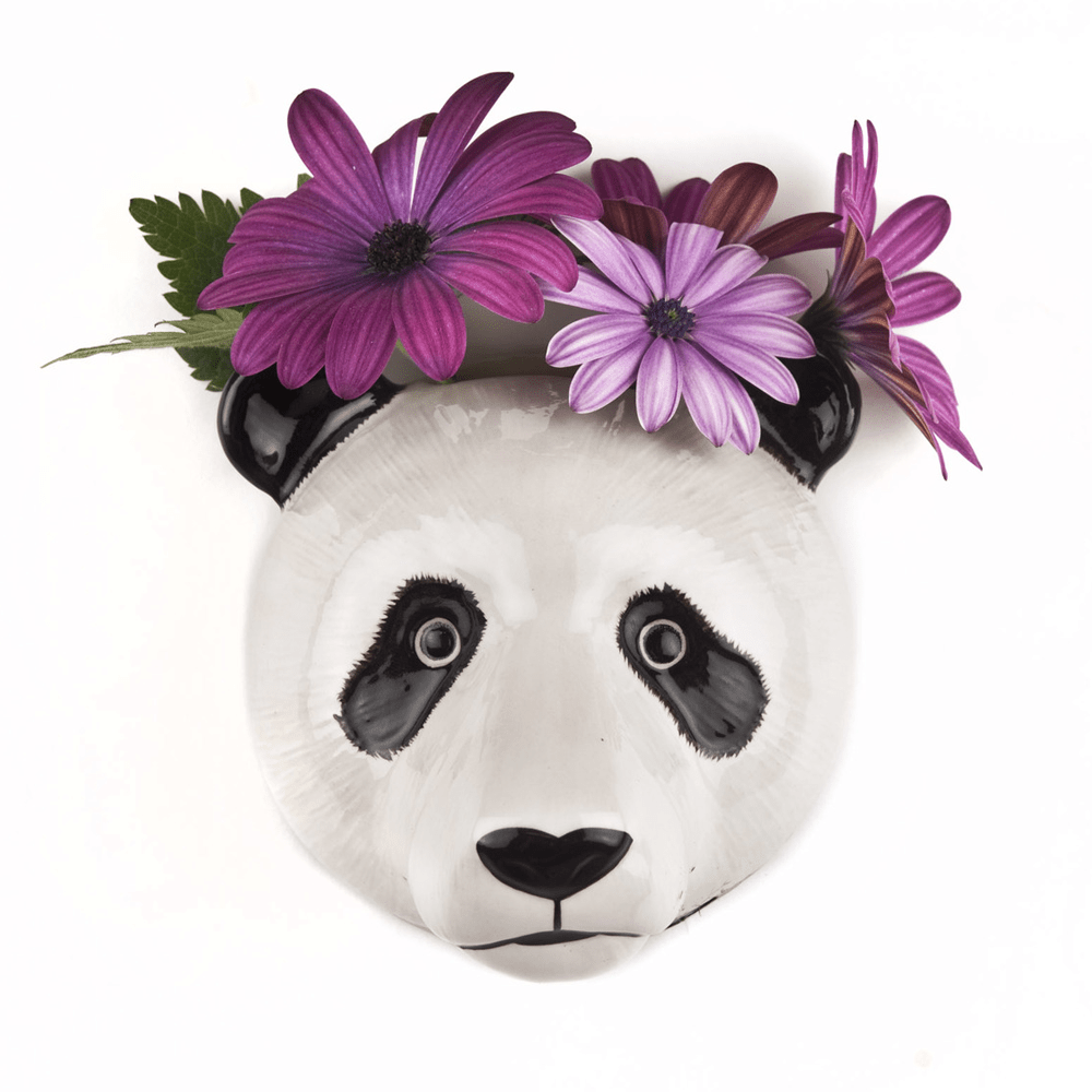 Wall hanging animal vase Panda
