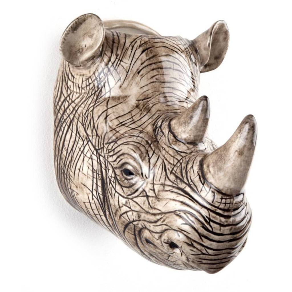 Wall hanging animal vase Rhino