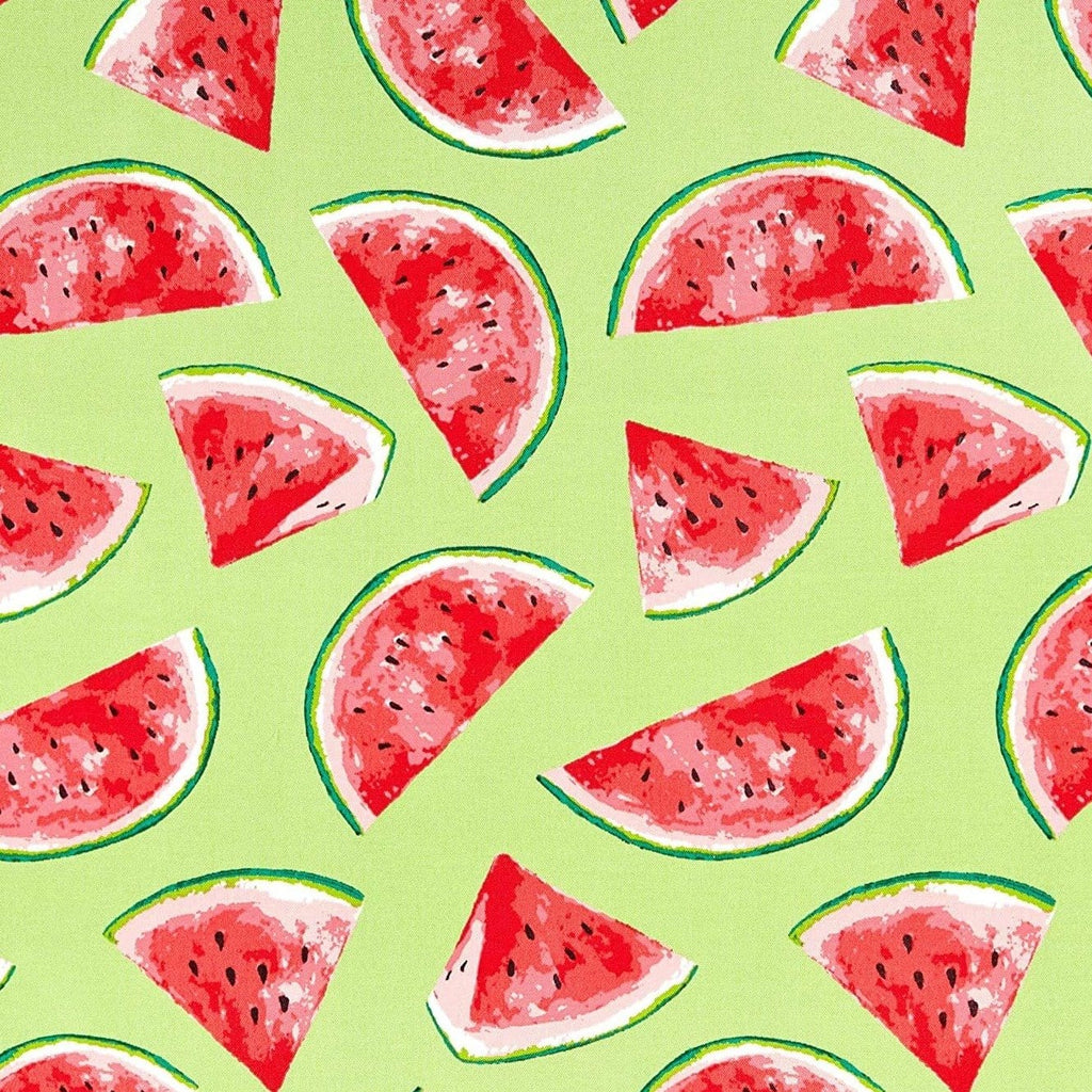 Watermelons Outdoor Fabric - Green