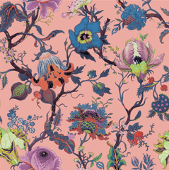 House of Hackney Artemis Amaranth Pink Wallpaper Pre-order