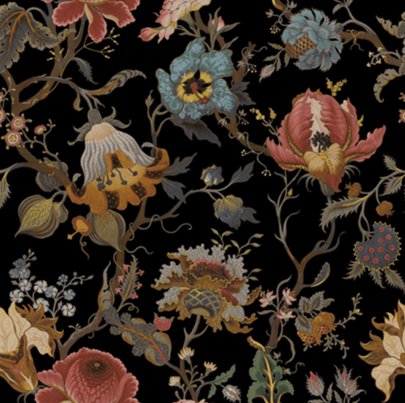 House of Hackney Artemis Black Wallpaper Pre-order